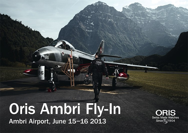 Oris Ambri Fly-In 2013
