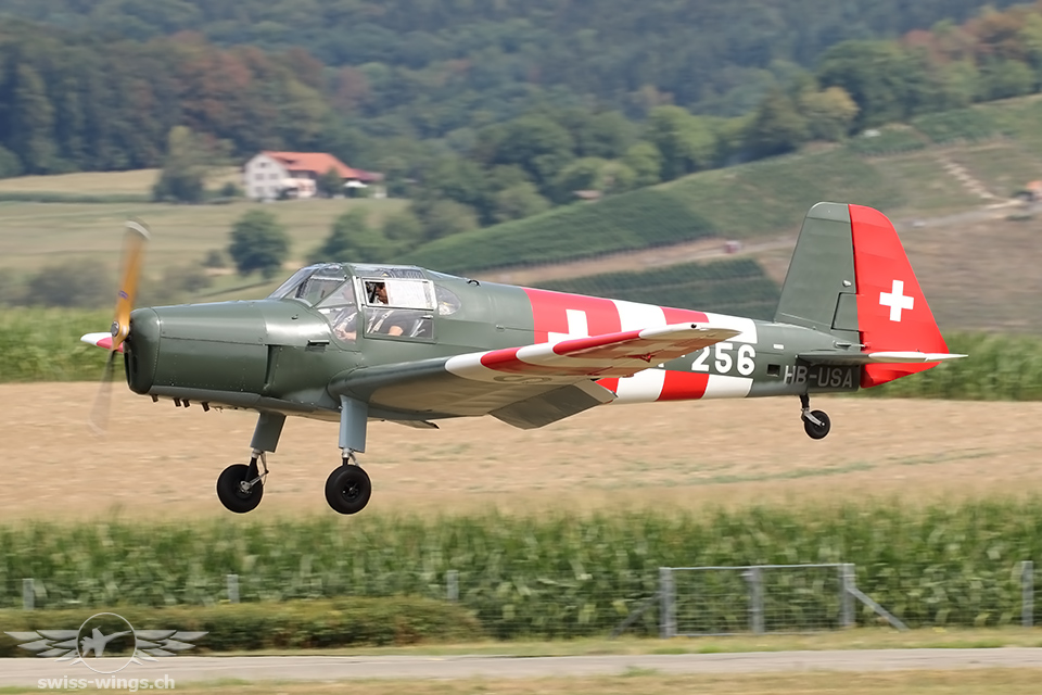 CAF Swiss Wing Fly In